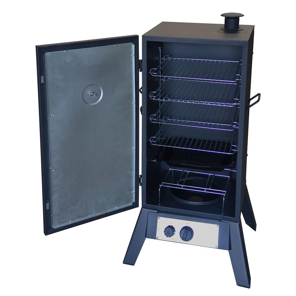 Steel Vertical Propane Smoker