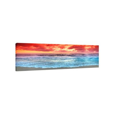 Sunrise Beach by Colossal Images Canvas Wall Art, 12 in. x 36 in.