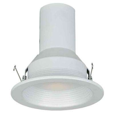 5 in. White Recessed Baffle Trim (6-Pack)