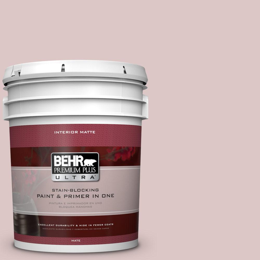 BEHR Premium Plus Ultra 5 gal. #130E-2 Fairview Taupe Flat/Matte Interior Paint
