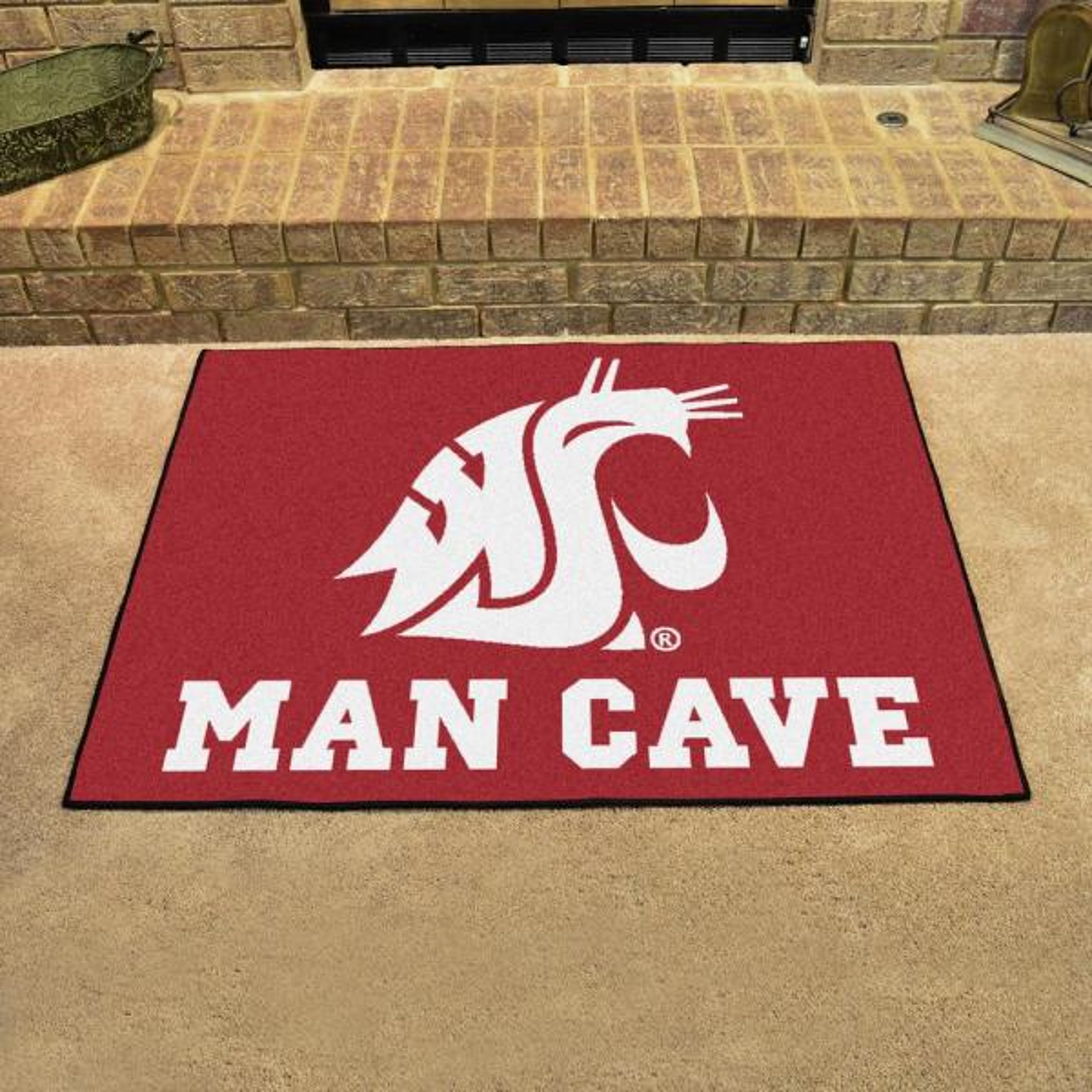 Washington State University Logo Area Rug