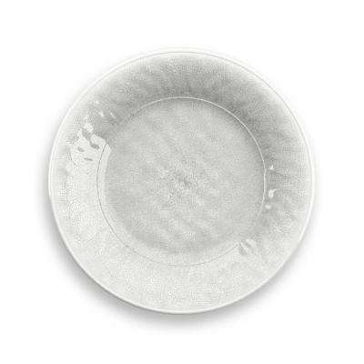Potters White Reactive Glaze Salad Plate (Set of 6)
