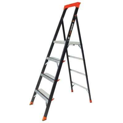 AirWing 6 ft. Fiberglass Step Ladder Type IAA 375 lbs. Rating