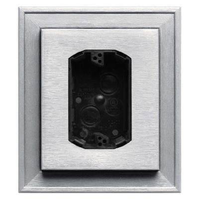 7 in. x 8 in. #117 Bright White Electrical Mounting Block