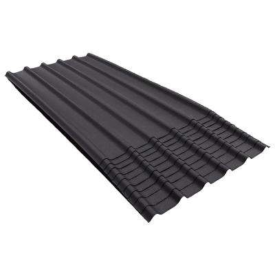 6V 6-1/2 ft. x 3.33 ft. Asphalt Roof Panel in Black (200 sq. ft. per Bundle) (10-Pack)