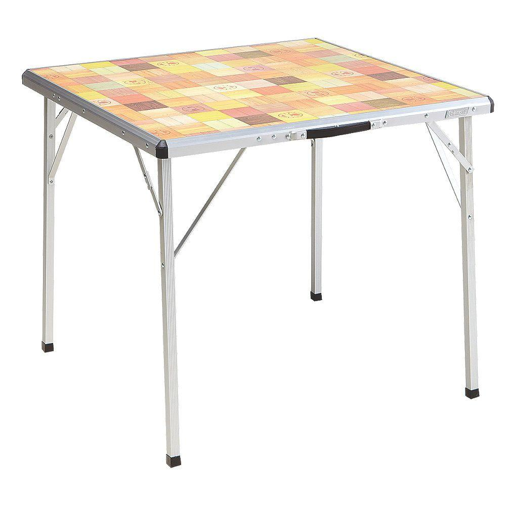 Coleman Pack Away Outdoor Folding Table 2000020278 The Home Depot
