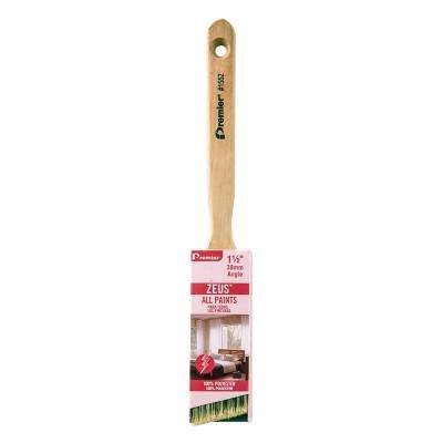 Zeus 1-1/2 in. Angle Sash Polyester Paint Brush (12-Pack)