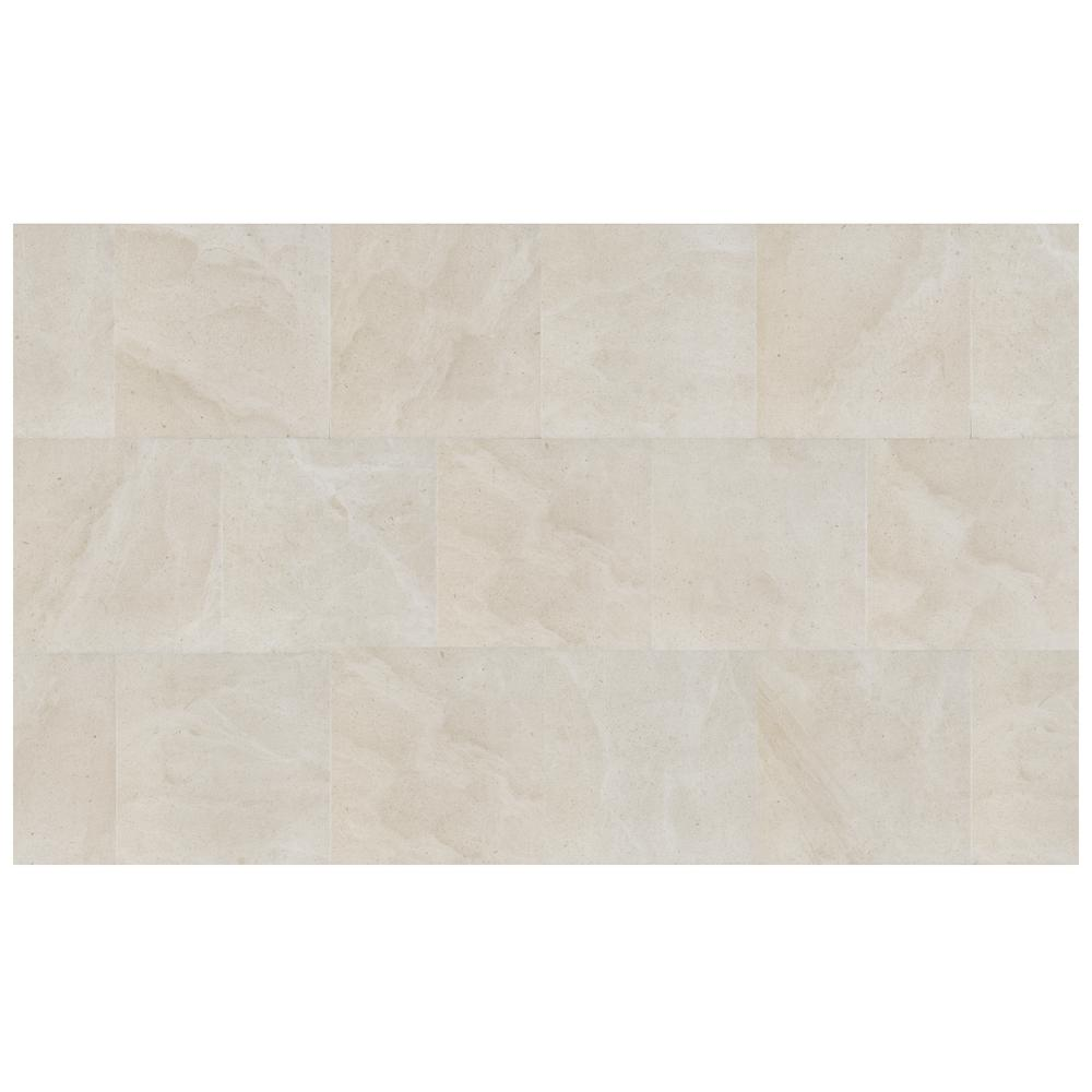 Florida Tile Home Collection Sahara Creme 12 in. x 12 in. Porcelain Floor and Wall Tile (487.22 sq. ft. / pallet)