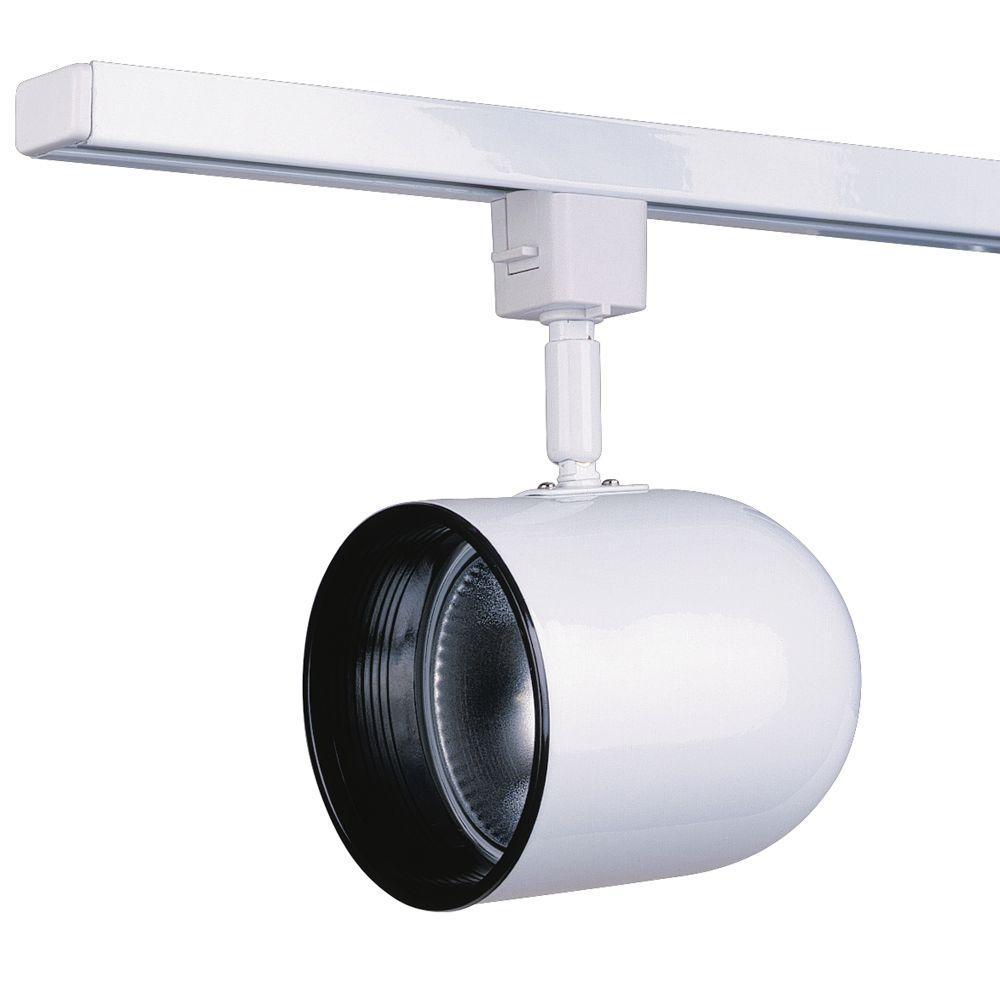 Par 30 White Track Lighting Fixture