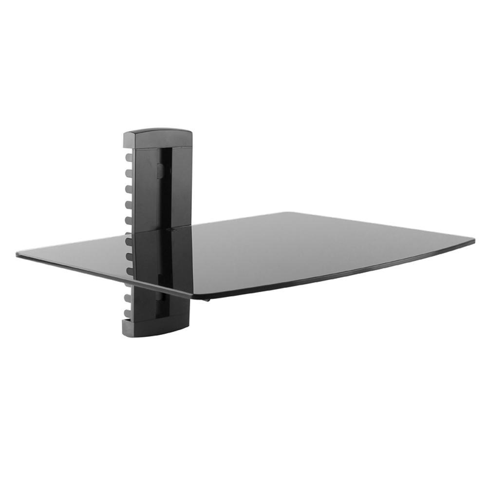 Adjustable Wall Mount Component Shelf