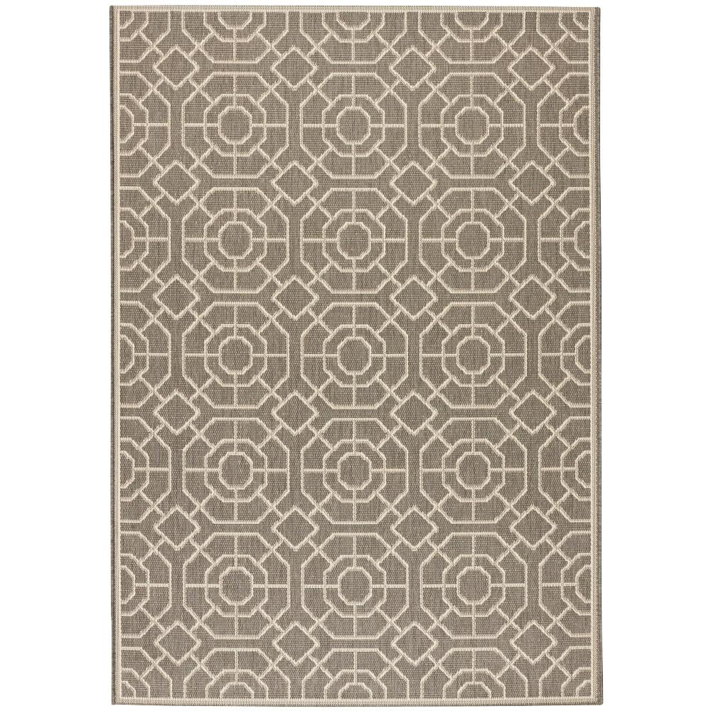 Home Decorators Collection Laguna Grey/Champagne 7 ft. 6 in. x 10 ft. 9 in. Area Rug