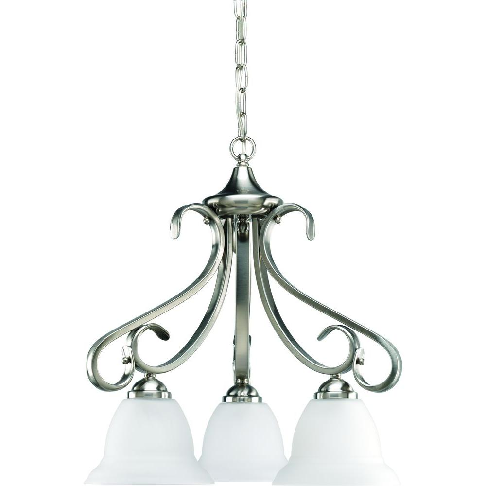 Progress Lighting Torino Collection 3 Light Brushed Nickel