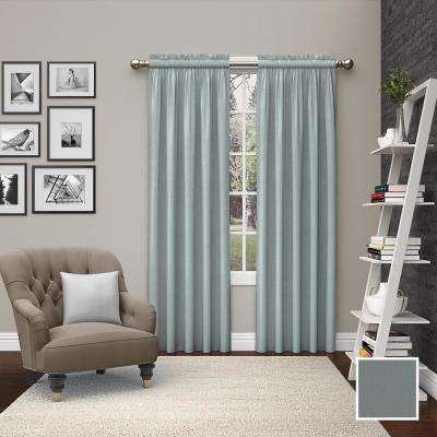 Light Filtering Spa Smooth Poly/Cotton Rod Pocket Curtain
