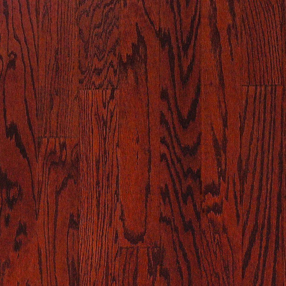 Millstead Oak Bordeaux 1/2 in. Thick x 5 in. Wide x Random Length Engineered Hardwood Flooring (31 sq. ft. / case)