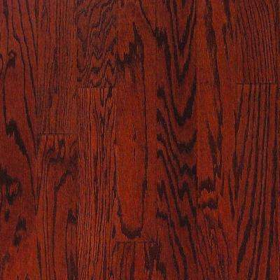 Oak Bordeaux 3/4 in.Thick x 4 in. Width x Random Length Solid Real Hardwood Flooring (21 sq. ft. / case)