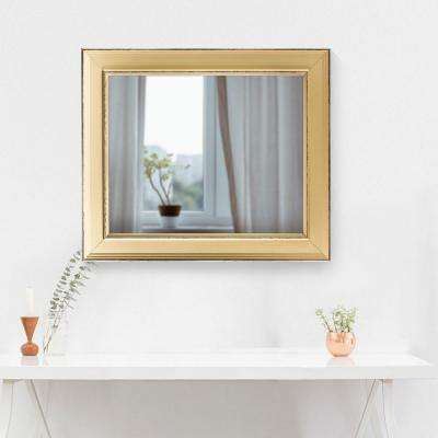 Camden Rectangular Cream Vanity Mirror