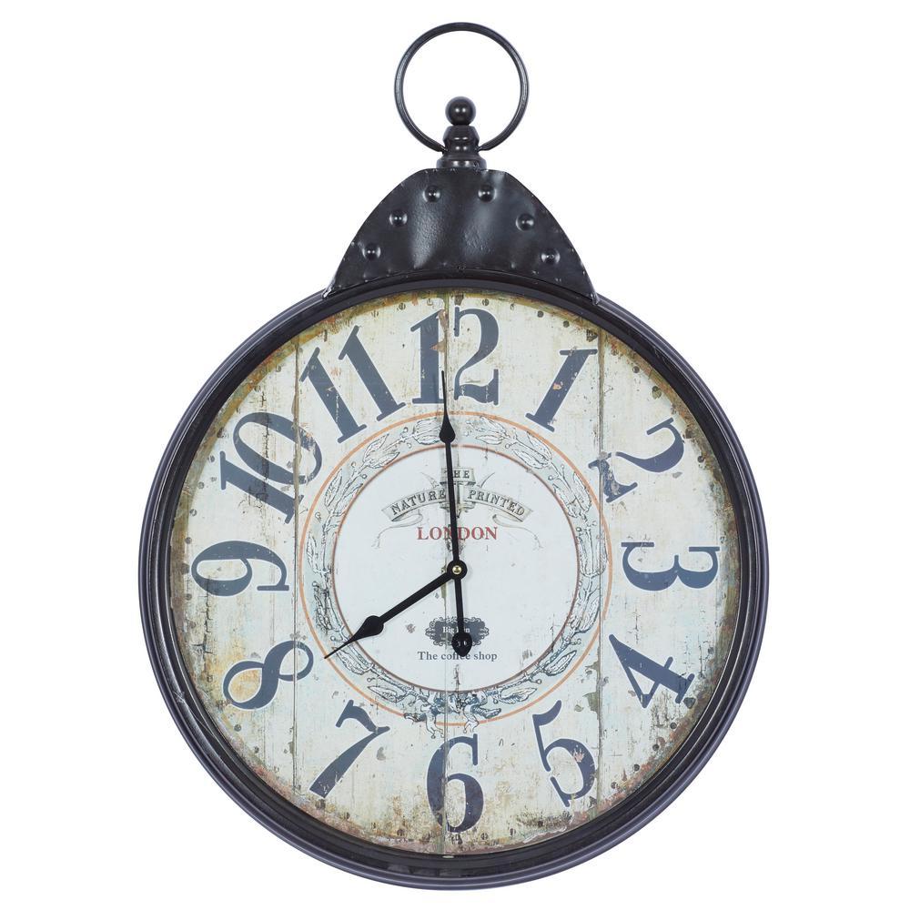 Bicycle Wheel Wall Clock FirsTime /& Co Iron 20
