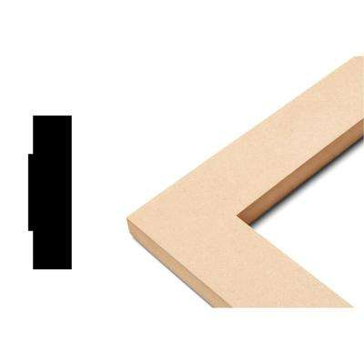 Modern Collection 3/4 in. x 13 in. x 23 in. MDF Self Adhesive Chair Rail Panel Moulding (3-Piece)