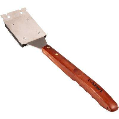 18.5 in. Grill Brush with Wood Handle