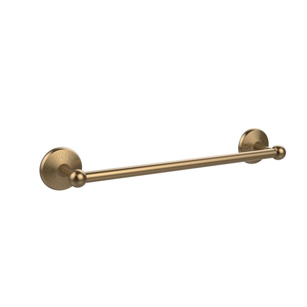 Allied Brass Prestige Monte Carlo Collection 18 in. Towel Bar in Brushed Bronze