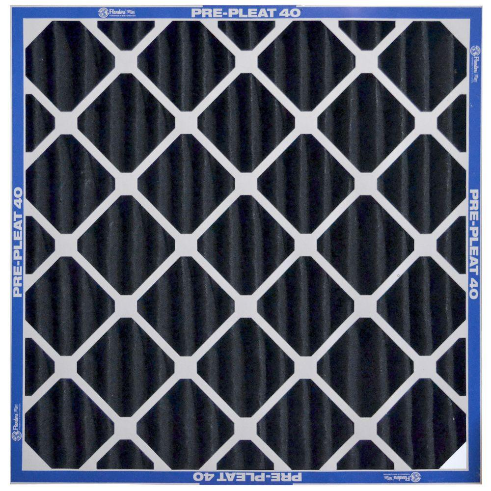 Flanders PrecisionAire 16 in. x 25 in. x 4 in. Prepleat MERV 6 Pleated Air Filter (Case of 6)