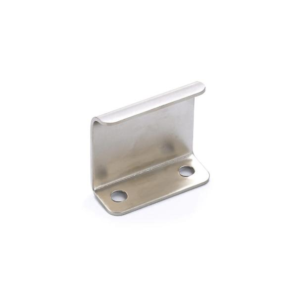 1 in. (25 mm) Center-to-Center Brushed Nickel Contemporary Edge Pull