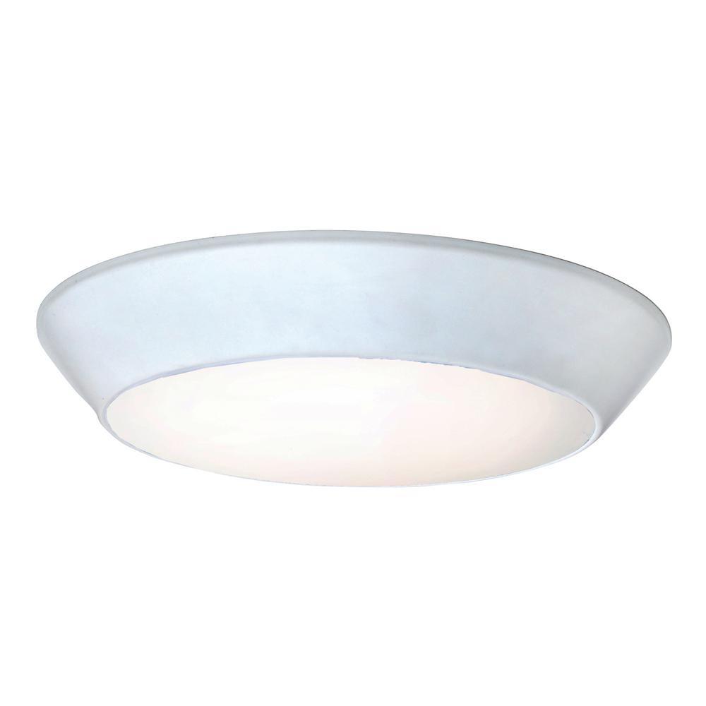 Maxim Lighting Convert LED 1-Light White Flush Mount