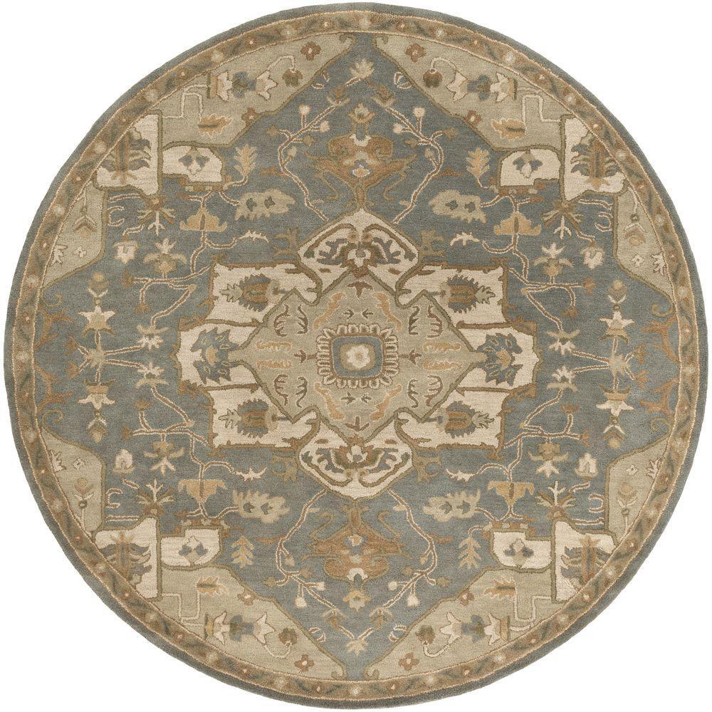 Artistic Weavers Demetrios Moss 4 Ft X 4 Ft Indoor Round Area Rug