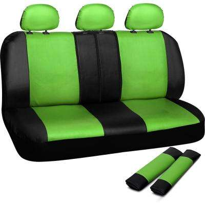 Polyurethane Bench Seat Cover in 21.5 in. L x  23 in. W x 31 in. H  Bench Seat Cover in Green and Black