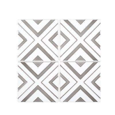 Reflection 6 in. x 6 in. x 9 mm Ceramic Wall Tile