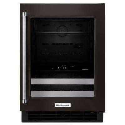 24 in. W 4.8 cu. ft. Dual Zone 14-Bottle Wine Cooler