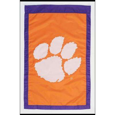 NCAA 28 in. x 44 in. Clemson 2-Sided Flag