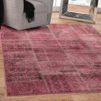 Sonoma Old World Raspberry 5 ft. 3 in. x 7 ft. 6 in. Area Rug