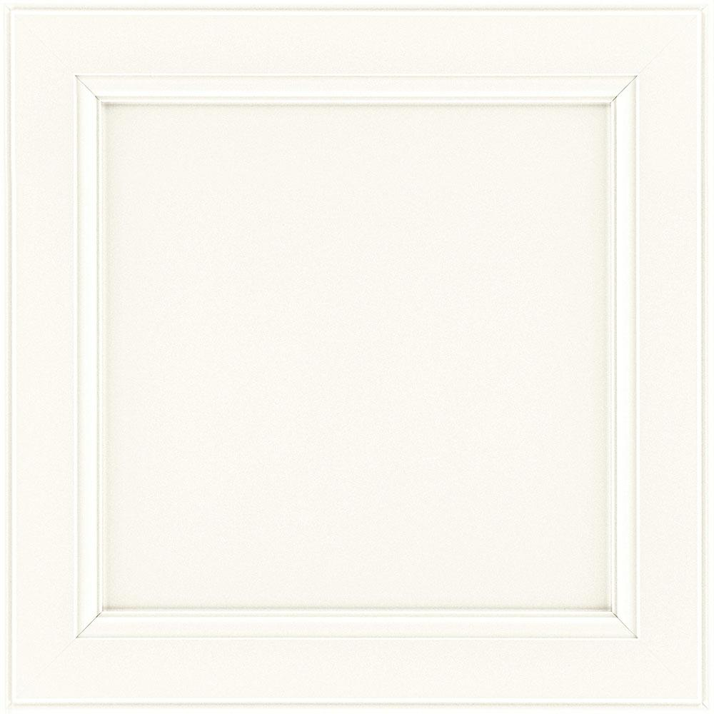 American Woodmark 13x12-7/8 in. Cabinet Door Sample in Glen Ellen Duraform Linen