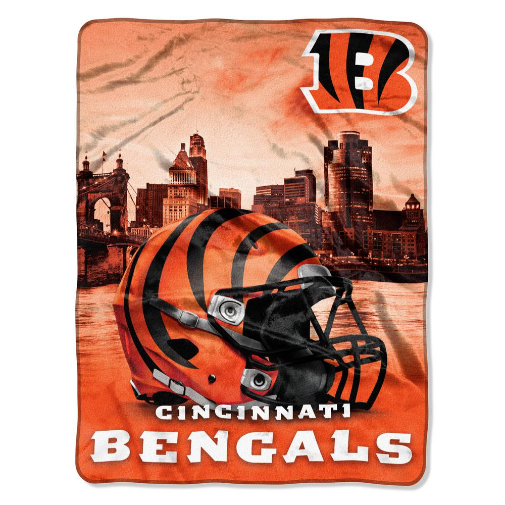 fa2ecd48cc0 Bengals Heritage Silk Touch Throw-1NFL071030002RET - The Home Depot