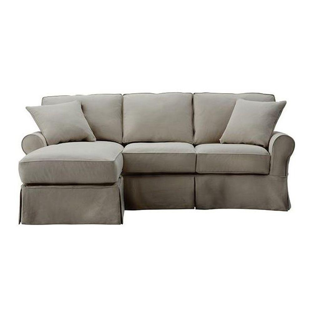 Home Decorators Classic Smoke Sectional