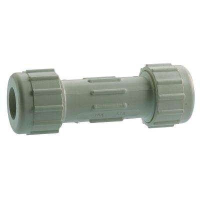1/2 in. Galvanized Compression Coupling Long Pattern