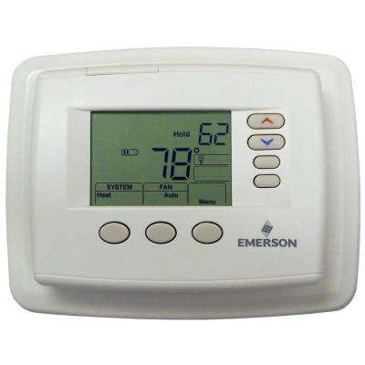 5-1-1 or 5-2 Day Multi-Stage Heat and Cool Programmable Thermostat