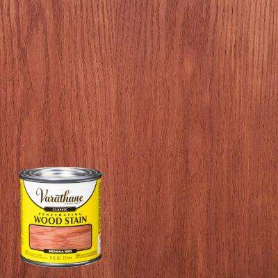 8 oz. Sedona Red Classic Wood Interior Stain (4-Pack)