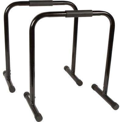 28.5 in. Tall Dip Station Bars for Fitness Exercise