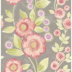 Melville Bloom Pink Floral Wallpaper