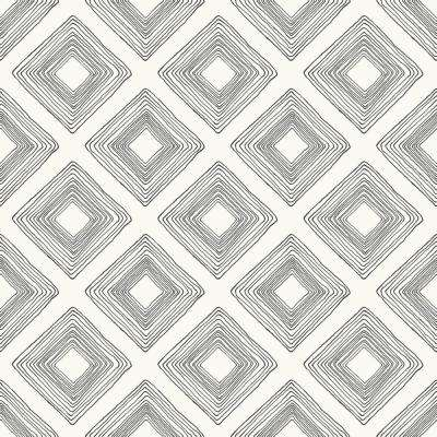 56 sq.ft. Diamond Sketch Wallpaper
