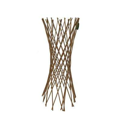 60 in. H Classic Willow Funnel Trellis