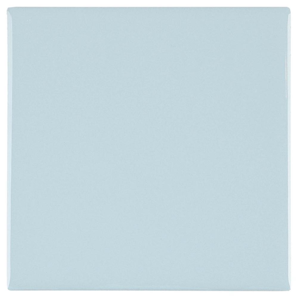 Daltile Restore Tide Blue 4-1/4 in. x 4-1/4 in. Glazed Ceramic Wall Tile (12.5 sq. ft. / case)