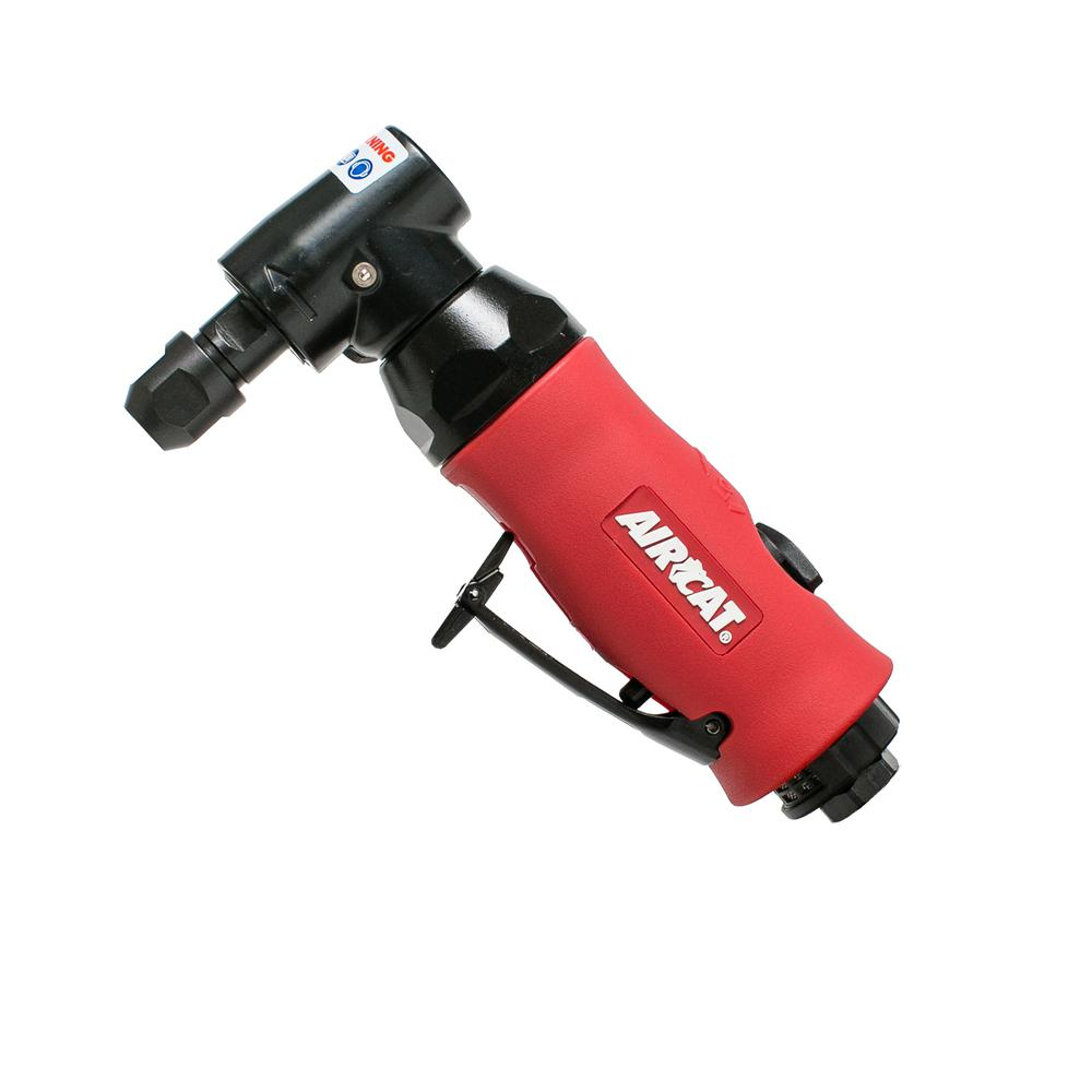 AIRCAT Composite 3/4 HP 1/4 in. Right Angle Die Grinder with Spindle Lock
