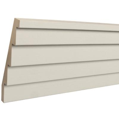 Sawtooth 3/4 in. x 5-1/2 in. x 96 in. Primed Wood Crown Moulding