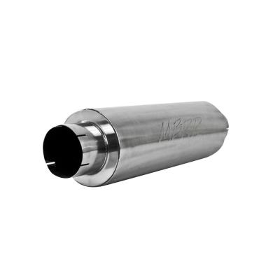 """MBRP Universal Tip 8/"""" x 2.375/"""" ID Rectangle 2.5/"""" O.D Inlet 8.25/"""" Length T5118"""