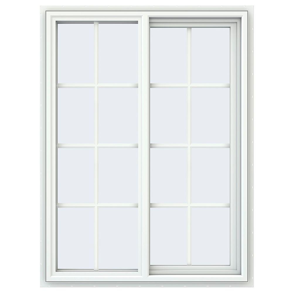 35.5 in. x 47.5 in. V-4500 Series Right-Hand Sliding Vinyl Window