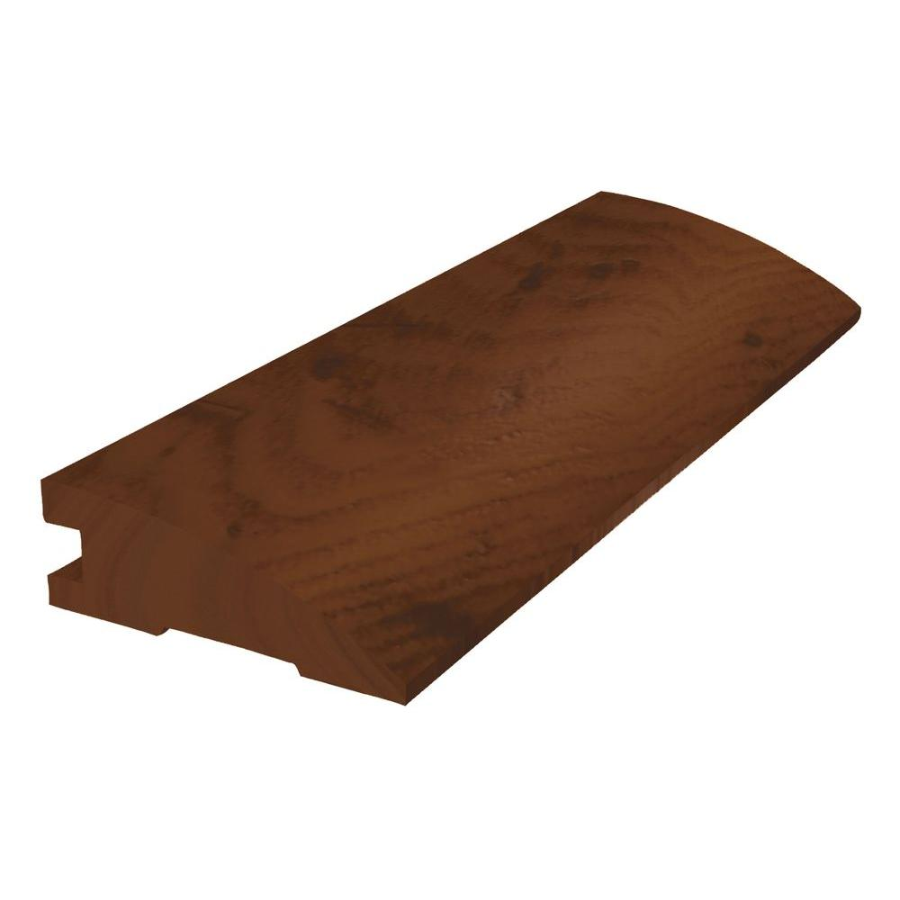 Shaw Distressed Hickory Saddle 2.25 Wide x 78 in. Length Reducer Solid Hardwood Molding-DISCONTINUED