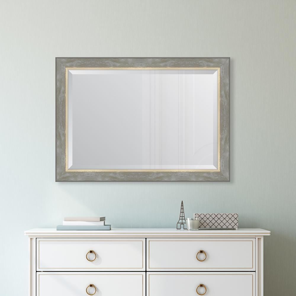 Melissa Van Hise 30 In X 42 In Champagne Catalina Framed Mirror Mir3242436 The Home Depot